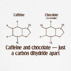 love this!!! two very essential things... caffeine and chocolate.
