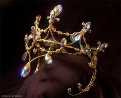 Caryn Wells Designs - custom created work The Dryad Queen headpiece