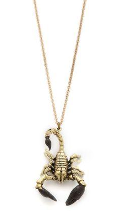 Monserat De Lucca Scorpio Zodiac Necklace