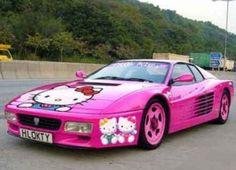 Ferrari di Hello Kitty