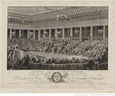 Assemblée Nationale  <mark class='highlightedText'>abandon</mark>  de tous les privilèges, à Versailles, séance de la nuit du 4 au 5 aout 1789 : [présentée et dédiée à l'Assemblée nationale, le 19 octobre 1790, par Helman,...] : [estampe] / dessiné par C. Monnet... ; gravé par Helman... ; [eau-forte de A.J. Duclos]
