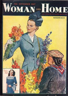 Woman and Home magazine from September 1947.