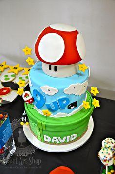 add stars to smash cake