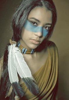 | Black and native american godess.