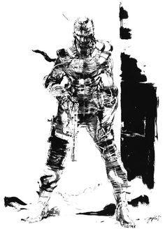 Snake Black & White, Metal Gear Solid 1