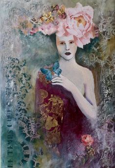 By Fatiha RIRY Painting, Art, Art Background, Painting Art, Paintings, Kunst, Drawings, Art Education