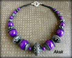 Les bijoux d'Akak, polymer clay.
