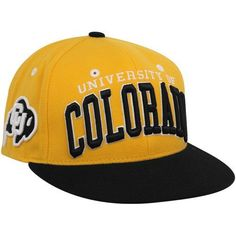 NCAA Colorado Buffaloes Super Star Snapback Cap, Gold by Zephyr. $21.95. Memory visor. Adjustable snapback hat. Officially licensed hat. 65% Acrylic / 35% Wool. Zephyr snapbacks are constructed to meet the desires of the consumer. Zephyr hats feature professional embroidery and detailed raised logos. The Zephyr Memory Visors are constructed with the best materials allowing you to bend the brim or keep it flat. About Zephyr Zephyr was established in 1993 by former ...