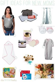 10 great gift ideas for new moms that are functional and thoughtful!