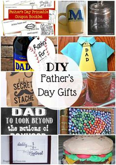 Father's Day is coming soon. If you are looking to make something for that special guy in your life, check out these 25 DIY Father's Day gift ideas.   I've even got some inexpensive ideas for those of you who are not crafty too.