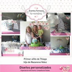 Souvenirs para Primer añito de Thiago, hijo de Nazarena Velez!
