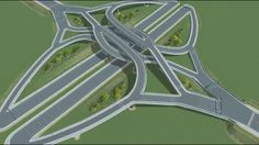 Steam Workshop :: Small DCMI or Double Crossover Merging Interchange