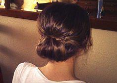 Tendencias en peinados para novias: recogidos informales #peinados #boda #novias