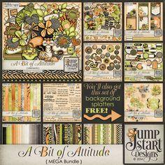 A Bit of Attitude ~ MEGA Bundle ~ by Jumpstart Designs