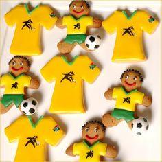 Viva Brazil! World Cup Gingerbread men