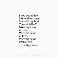 Veronika Jensen • Lulu's Secret Desires • #love #quote #quotes #eyes #brain #heart #sad #sadquotes #poetry #writing #lulussecretdesires #veronikajensen
