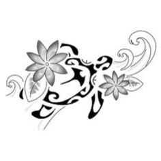 Using this design for a sweet hip tattoo