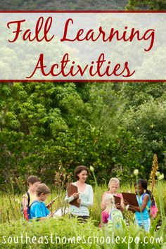 As homeschoolers, we can take the fall season and turn it into learning activities. Here are some of our favorite Fall Learning Activities. Fall Activities For Toddlers, Educational Activities For Kids, Learning Activities, Homeschool Curriculum, Homeschooling Resources, Preschool Age, Fall Season, Nature Study, Field Trips