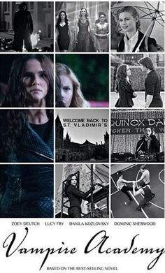 Vampire Academy.