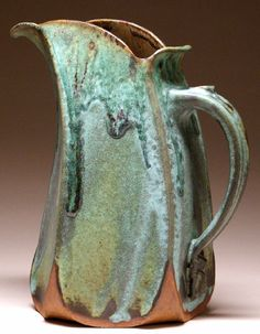 Mangum Pottery Handcrafted Slab Built Pitcher