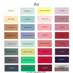 Air – what to wear…If you think you're an Air, then you need to think Cool and Powdery colors. These will reflect the best light up onto your skin, hair and eye tone. Soft Summer Color Palette, Summer Colors, Earth Tone Colors, Earth Tones, Seasonal Color Analysis, Pink Orchids, Hair Color Blue, Thing 1, Pink Sky
