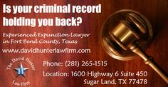 Is your criminal record holding you back? Let us help you