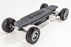 4 - GT Powerboard - Black Anodized Aluminum Off Road Electric Skateboard Board Skateboard, Skateboard Store, Electric Scooter For Kids, Electric Skateboard, Snowboard, Skateboards For Sale, Surf, Aluminum Decking, Homemade 3d Printer