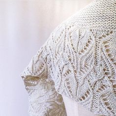 Repost from @arohaknits This is a sneak peak of the second shawl from her upcoming collection of one skein wonder shawls. This is our light grey colourway on superfine merino 4ply fingering. Francoise is so talented. I'm so honoured that she is using our yarn for her designs. by weloveknitting