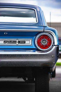 free wiring diagrams automotive ford galaxie   1965 6 & V8 ...