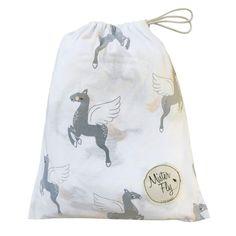 Mister Fly Unicorn Jersey Cot Sheet #oliverthomas #misterfly #babybedding #nursery #baby #cotsheet #unicorn #jerseysheet
