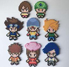 Digimon DigiDestined: Tai Matt Sora Mimi Izzy Joe TK
