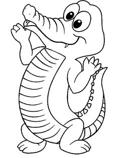 Crocodiles Coloring Page 10 Is A From BookLet Your Children Express Their Imagination When They Color The