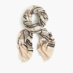 Fireside plaid scarf