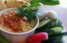 Made with zucchini instead of beans or nuts, this hummus is light and fluffy but still tastes authentic!