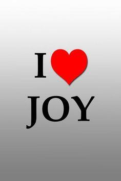 Joy & contentment