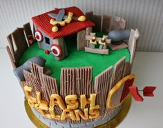 8 Clash Of The Clans Cake Ideas Clash Of Clans Clash Royale Party Cake