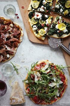 No matter the time of year or the occasion, pizza is the best (and easiest!) way to please a crowd. Make cooking into a group activity with a make-your-own pizza party -- it's fun and casual, and y...