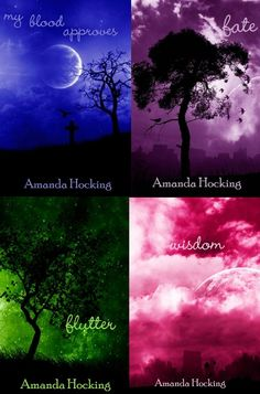 My Blood Approves Series by Amanda Hocking. #vampires