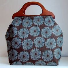 Sunburst Large Craft Project Tote/ Knitting Tote by tanneicasey