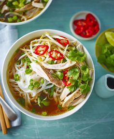 Slow cooker chicken pho - amazing flavour and so easy!