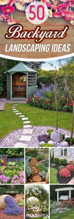 50 Backyard Landscaping Ideas that Will Make You Feel at Home 50 Hinterhof-Landschaftsbau-Ideen, mit Unique Garden, Diy Garden, Lawn And Garden, Terrace Garden, Garden Path, Garden Spaces, Home Landscaping, Front Yard Landscaping, Landscaping Software