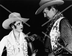 awesome Mary Brian cowgirl and unknown cowboy 8×10 photo from Varsity 835-10