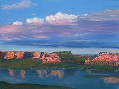 Lake Powell by Jose Carrilho Lake Powell, Fine Art, What A Wonderful World, Wonders Of The World, Pastel, Scenery, Adventure, Drawings, Artist