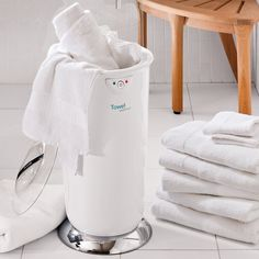 Towel Warmer..this would be nice on those snowy days when its cold and you get out of the shower.