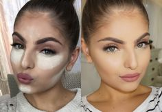 Face baking makeup technique or cooking makeup is the newest fad to have reemerged from its 'concealed' grave. Baking makeup trend uses makeup to bake your face! Beauty Magic, Beauty Make-up, Hair Beauty, Beauty Tips, Beauty Trends, Fashion Beauty, Makeup Trends, Makeup Ideas, Le Contouring