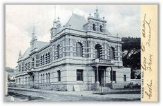 Wynberg Town Hall - c1904 Old Photos, Vintage Photos, Town Hall, Cape Town, Big Ben, South Africa, Travel Destinations, Cities, History