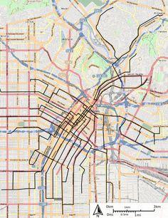 Los Angeles Railway (Yellow Cars streetcars)