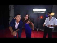 Actores de Reina de Corazones bailando y cantando tema de la novela