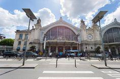 Magnifique photo de la Gare de Tours - copyright VJONCHERAY