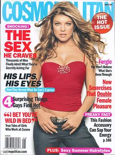 August 2006 cover with Fergie